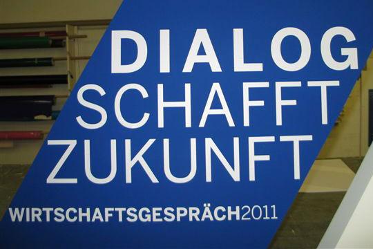 Dialog schafft Zukunft