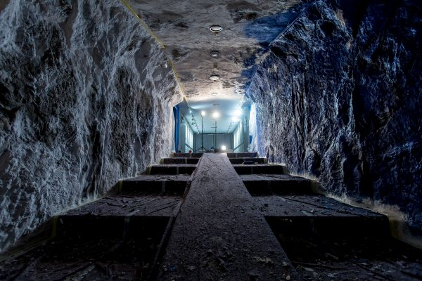 Spielertunnel Schalke 04 Gestaltung