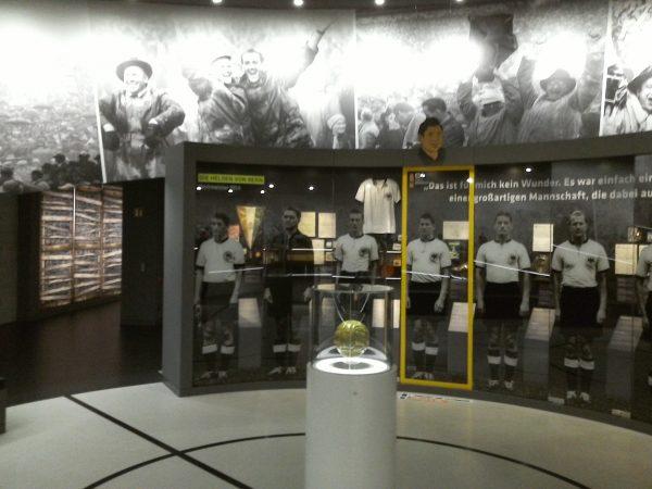 Fußballmuseum Ausstattungsbau
