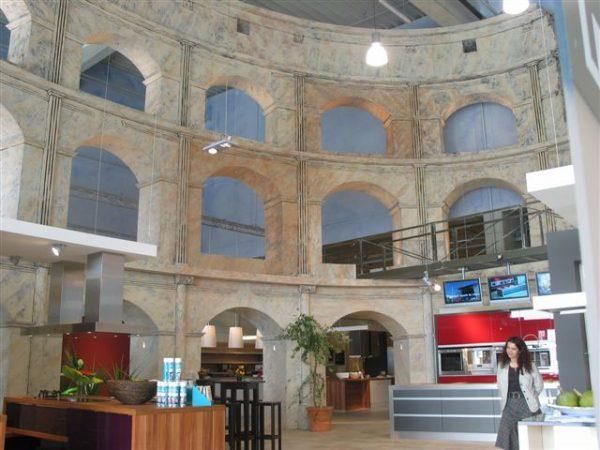 Kulissenbau Kolosseum
